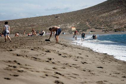 Strand bei El Medano