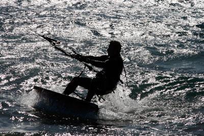 Kite-Surfen auf Teneriffa