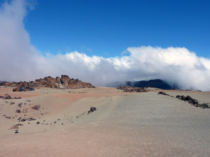 Auf 2200m am Fuß des Teide